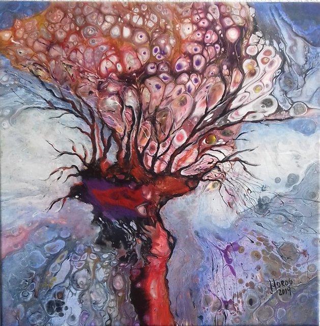 Oak. Original art by Mariana Oros