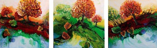 Seasons. Original art by Mariana Oros