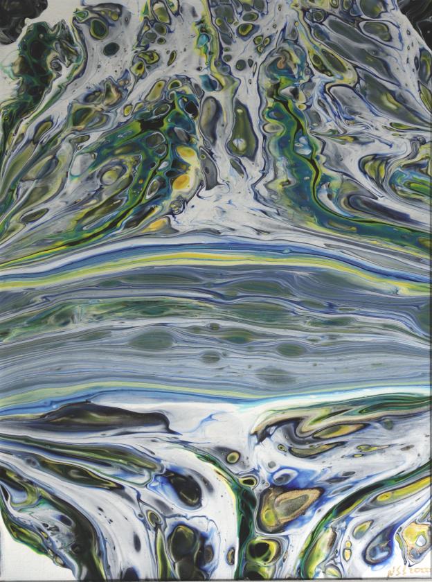 Compression. Original art by Nigel Simpkins