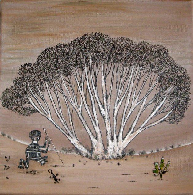The Hunter. Original art by Sue Wright