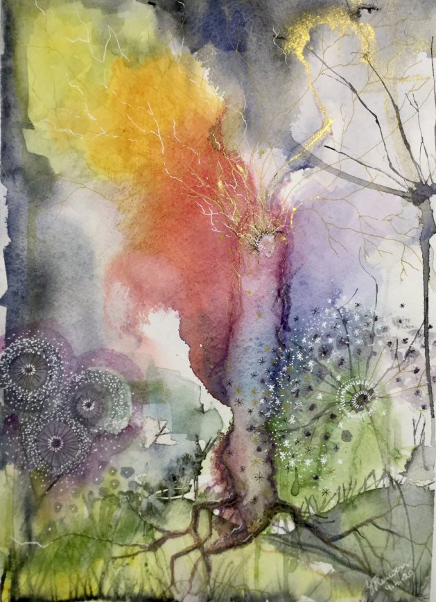 Rainbow Spirit 2020. Original art by Yvette Rawson