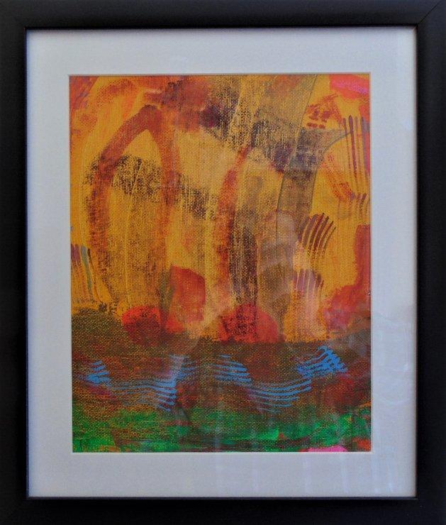 Solar Dream. Original art by Paul Cornish