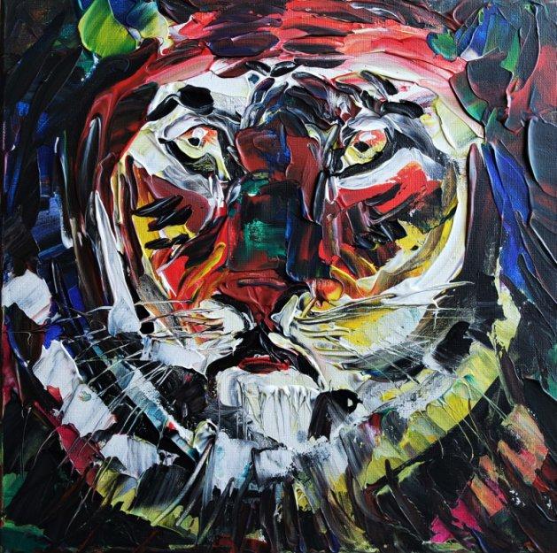 Tiger Tigger 504. Original art by Eraclis Aristidou
