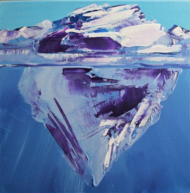 Tip of the iceberg 510. Original art by Eraclis Aristidou