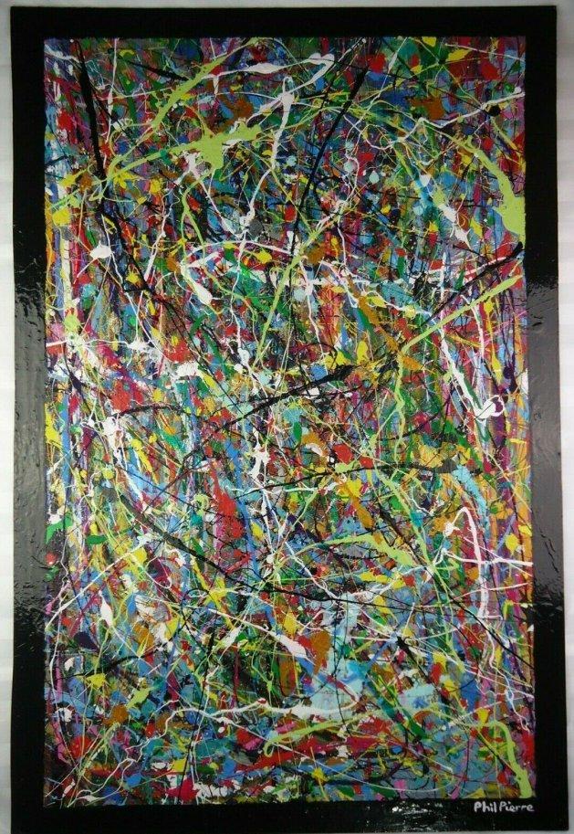 BUBBLE GUM 457. Original art by Phil Pierre