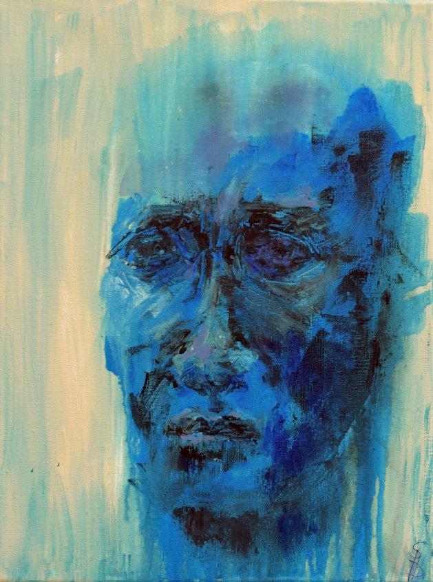 Man I. Original art by SB Boursot