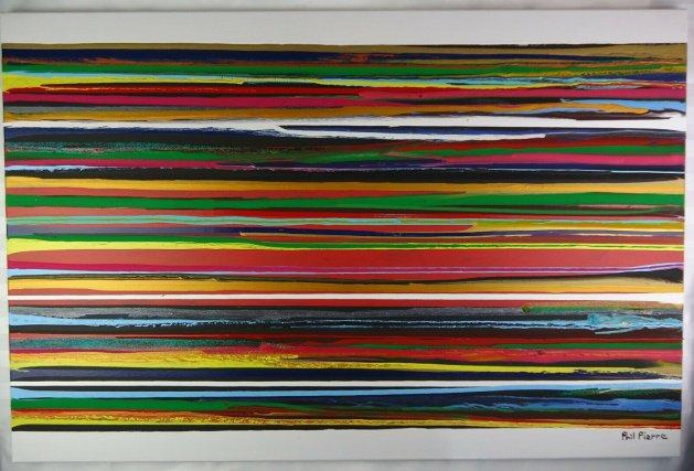 Stripes 120. Original art by Phil Pierre