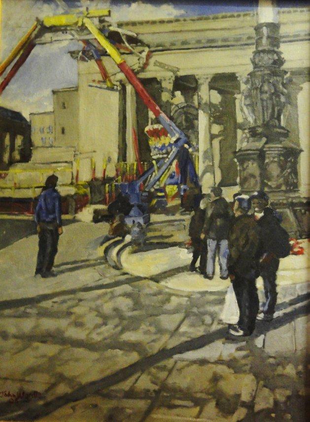 Fun and Games Sheffield City Hall. Original art by John Wardle