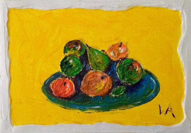 Pretty Fruity. Original art by Warren Armstrong