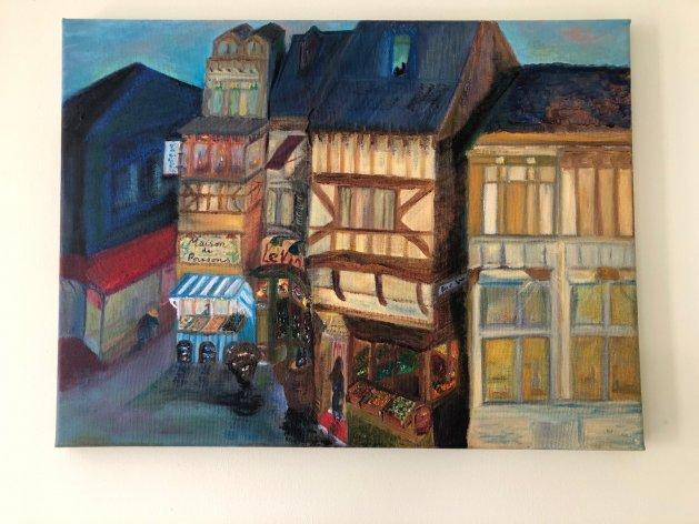 French Memories. Original art by Allison Murphy