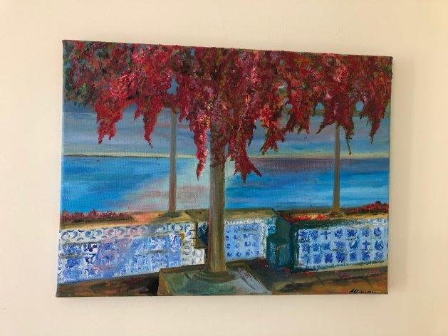 Belvedere.. Original art by Allison Murphy