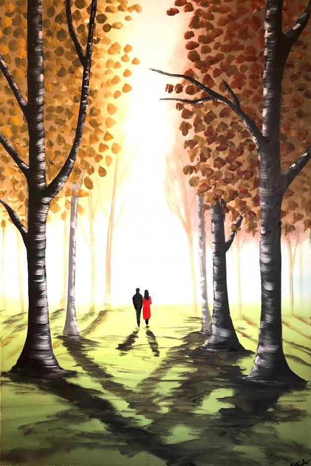 Autumn Dreams 7. Original art by Aisha Haider