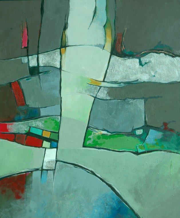 Strata. Original art by Richard Carr