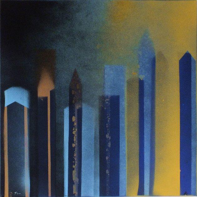 Smart City 2. Original art by Tracey Unwin