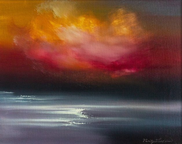 Evening Tide (2020). Original art by Verity Westwood