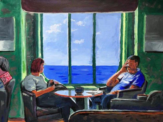 Quality Time. Original art by Joe Bor