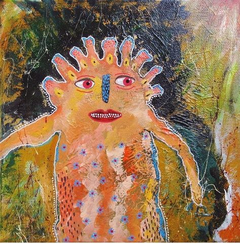 I'm Feeling A Bit Happier Today. Original art by Beatrice Margaret