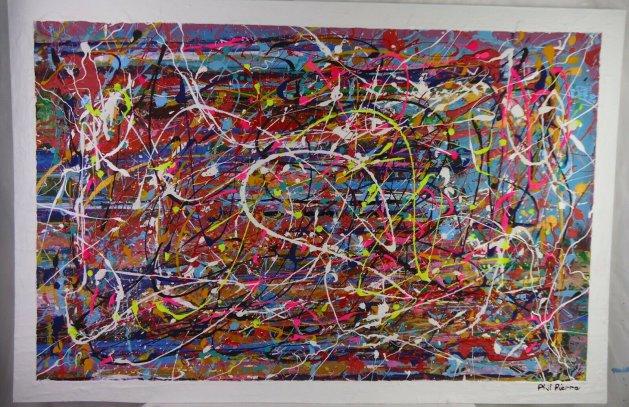 BUBBLE GUM 454. Original art by Phil Pierre