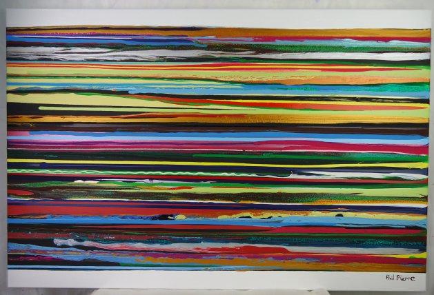 Stripes 121. Original art by Phil Pierre