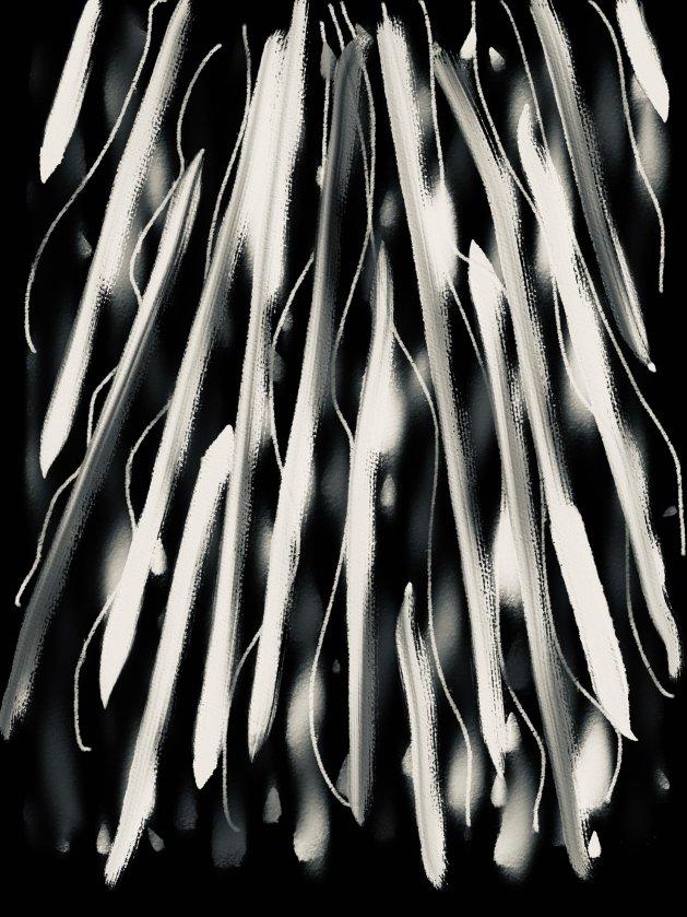 Shades of Grey. Original art by Raymond Howes