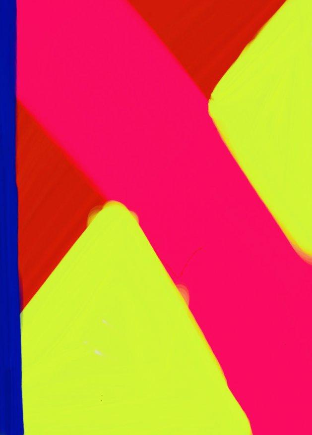 Neon Cross. Original art by Raymond Howes