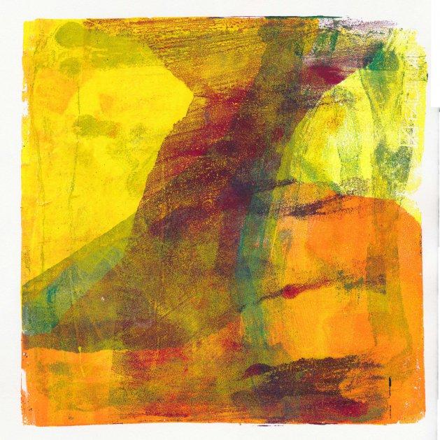 Desert Storm. Original art by Ian Bertram
