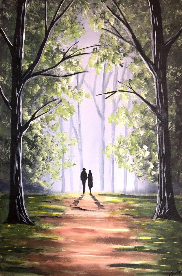 A New Beginning. Original art by Aisha Haider