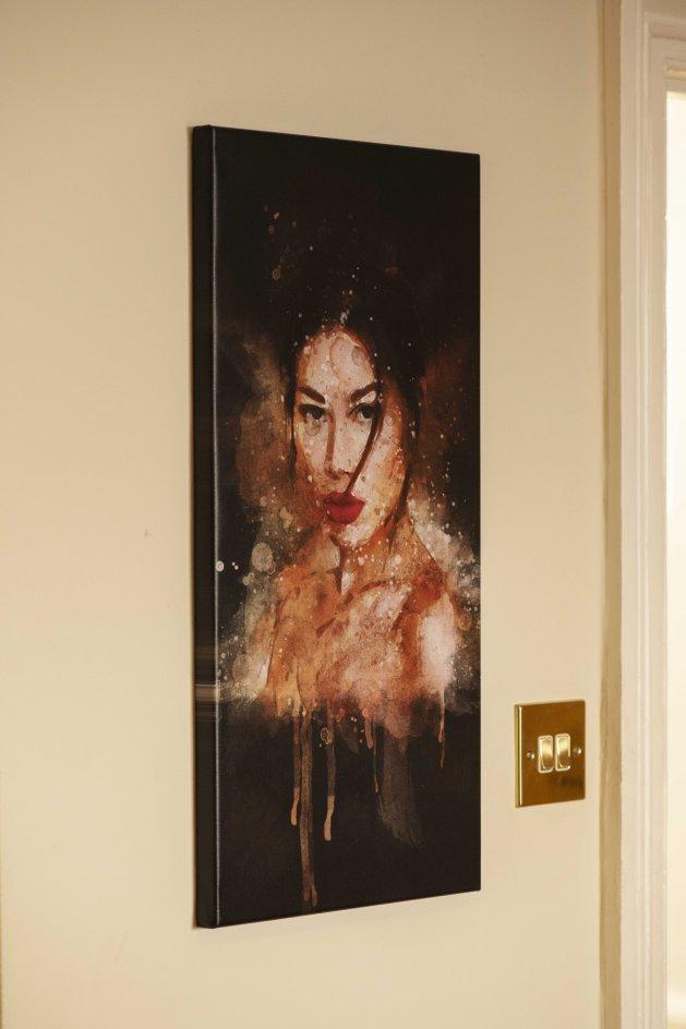 Oriental Intensity. Original art by Felipe Meggio