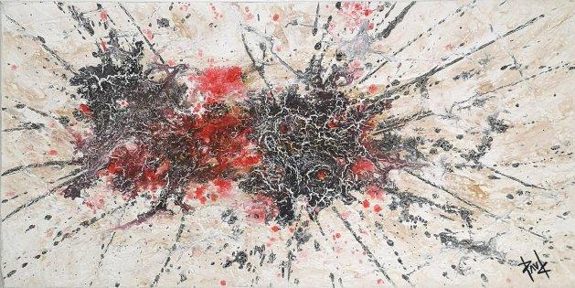 Artwork 088 24x12ins. Original art by Paul Chambers