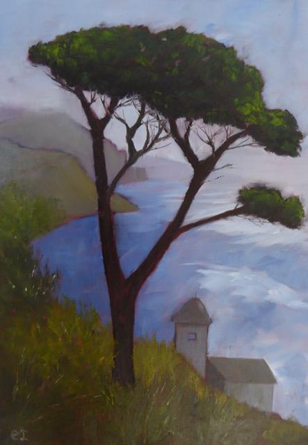 Ravello. Original art by Christine Ingram