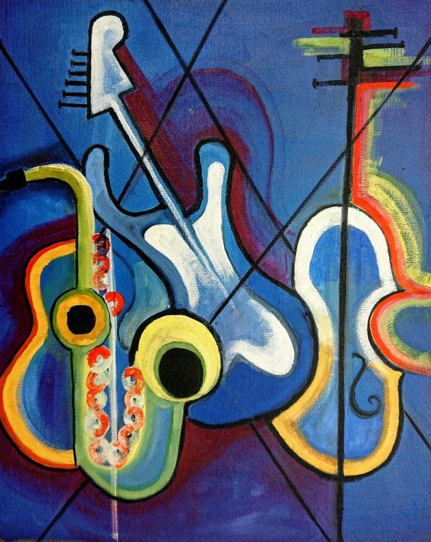 Good Vibrations. Original art by John Walker