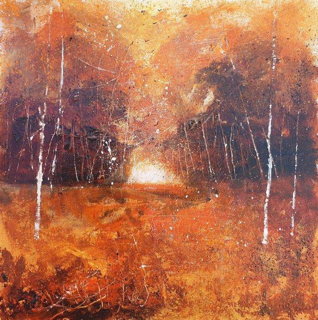 Autumn Riches. Original art by Teresa Tanner