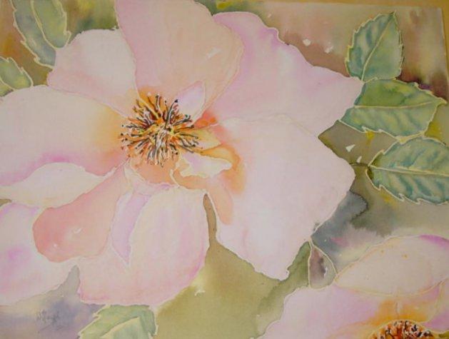 ROSES. Original art by Wendy Lloyd