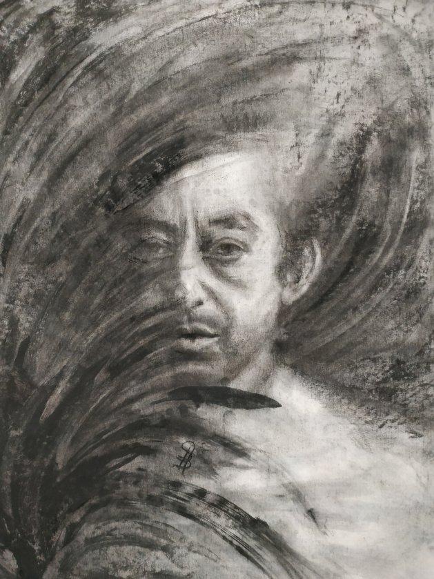 Serge. Original art by SB Boursot