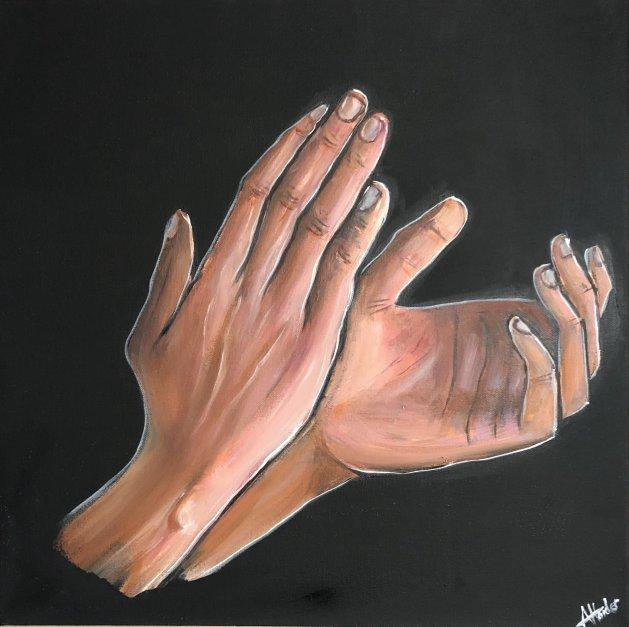 The Support. Original art by Aisha Haider