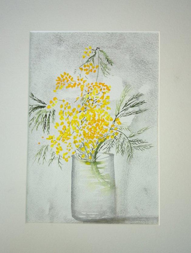 Mimosa. Original art by Nikki Griffith