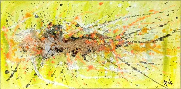 Artwork 110 24x12ins. Original art by Paul Chambers