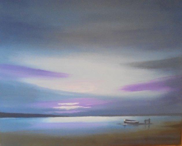 Purple Haze. Original art by Steve Hawthorn