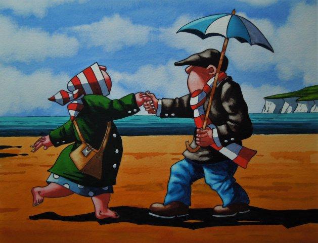Love to Dance. Original art by Paul Kiernan