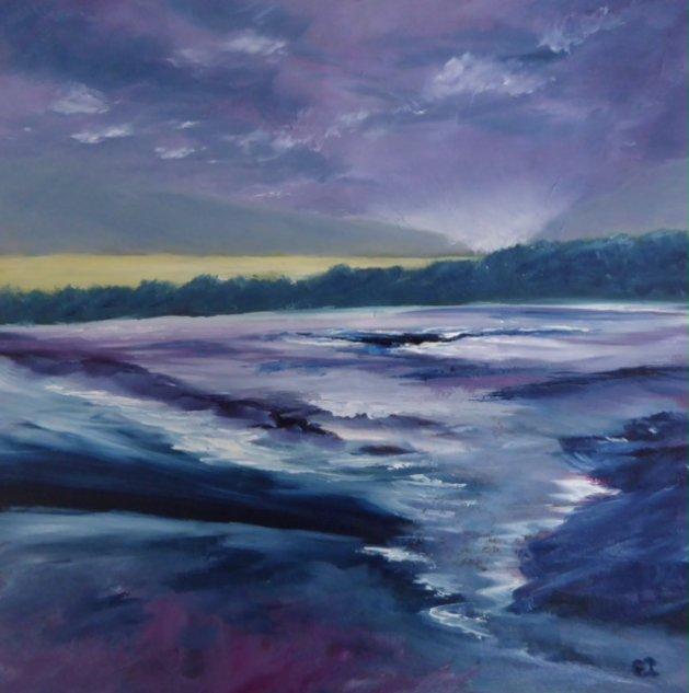 Purple Day. Original art by Christine Ingram