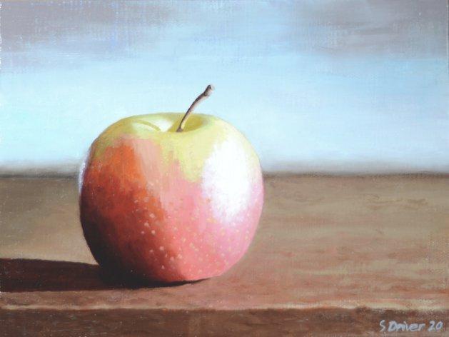 Apple Still Life Oil Painting. Original art by Steve Driver