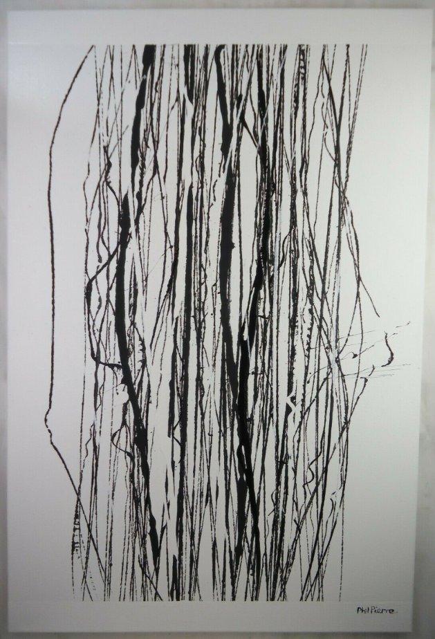 String 122. Original art by Phil Pierre