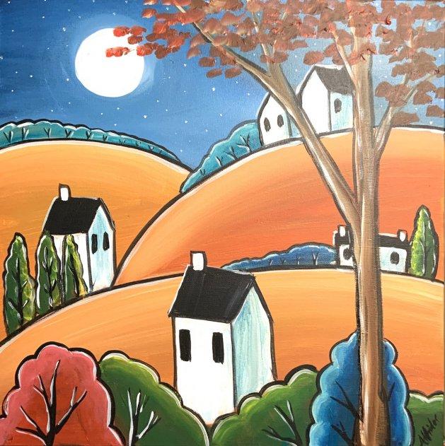 The Full Moon. Original art by Aisha Haider