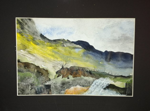 Highlands. Original art by Nikki Griffith
