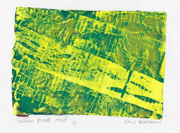 Yellow Brick Road. Original art by Ian Bertram