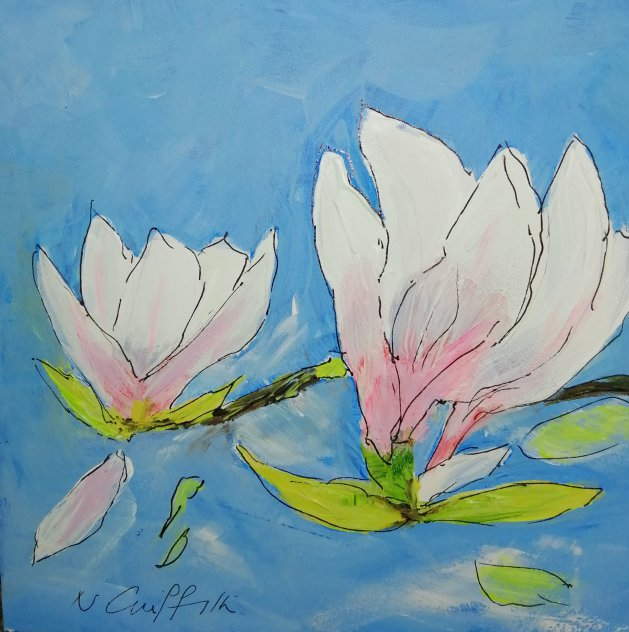 Magnolia I. Original art by Nikki Griffith