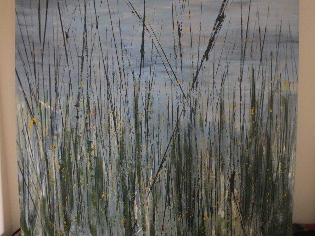 127 Reeds. Original art by Irene Gelling