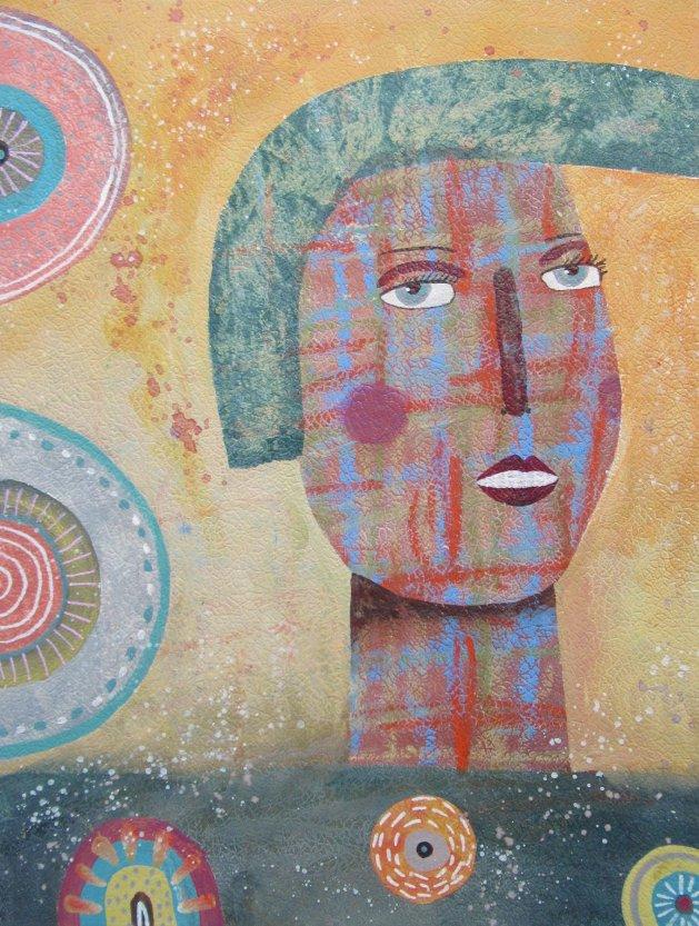 Quiff. Original art by Bea Roberts