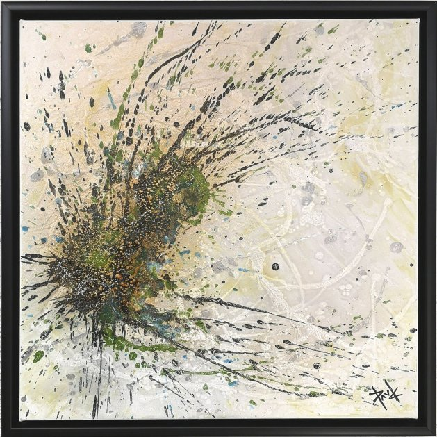 1003 Cyllene 20x20ins (framed). Original art by Paul Chambers