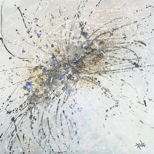 1033 Skathi  24x24ins. Original art by Paul Chambers